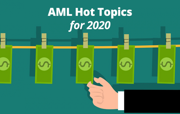 AML Hot Topics for 2020