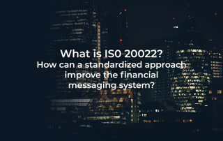 What is ISO 20022?