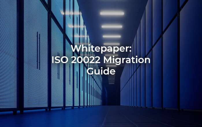 ISO 20022 Migration Guide